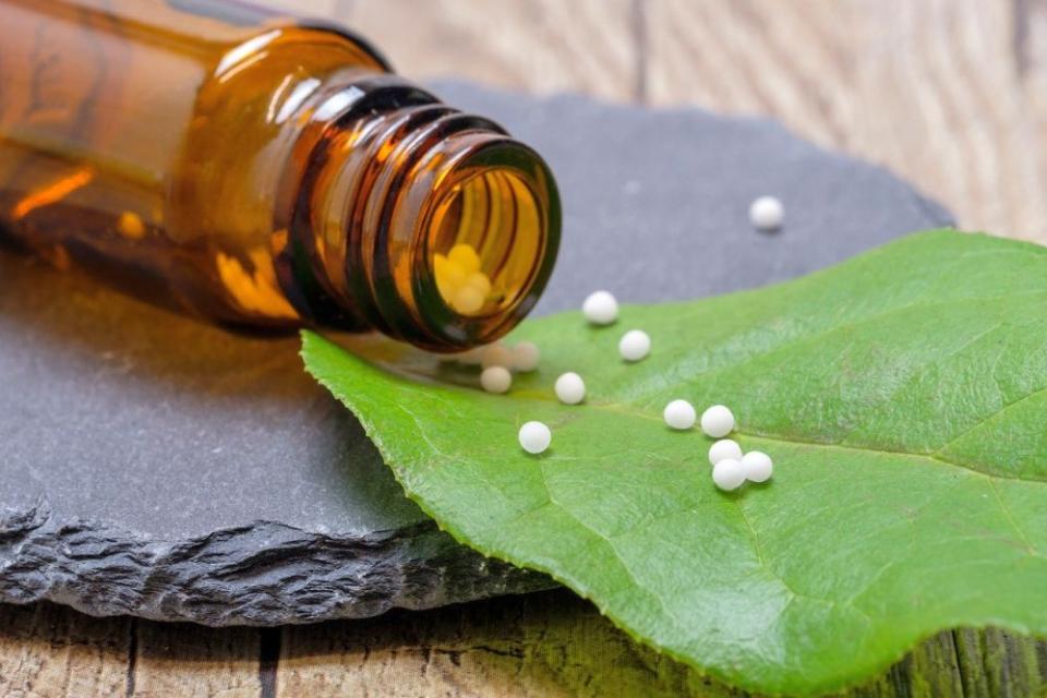 Homeopatie.  Foto: Pixabay