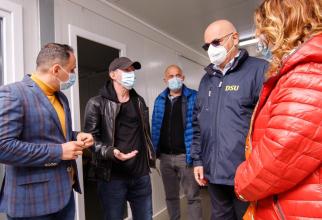 Premierul Florin Cîțu a verificat stadiul lucrărilor la Spitalul modular din Pipera  FOTO: Facebook Guvernul României