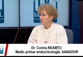 Dr Corina Neamțu, SANADOR. Foto: DC Medical