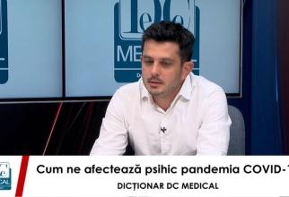Dr Mihai BRAN este medic psihiatru și psihoterapeut