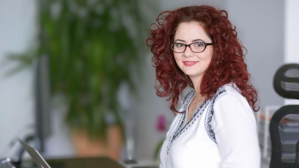 Alina Frâncu, Communication & Brand Marketing Manager Europharm Distribuție. Foto: Cristina Nichitus