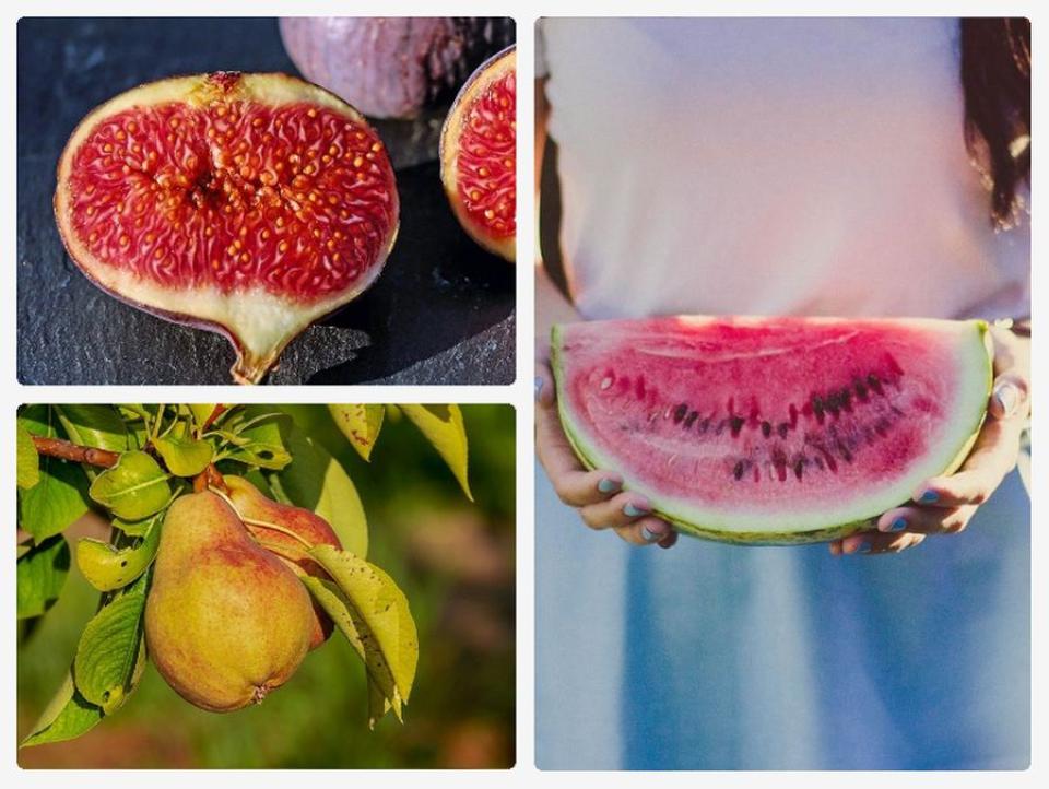 Cele mai dulci fructe și cât zahăr conțin ele. Foto colaj: Pixabay