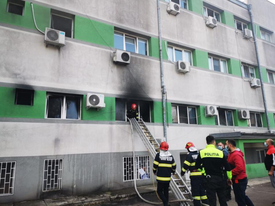 Incendiul a avut loc la secția ATI